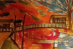 Kalenbergergracht-zonsondergang