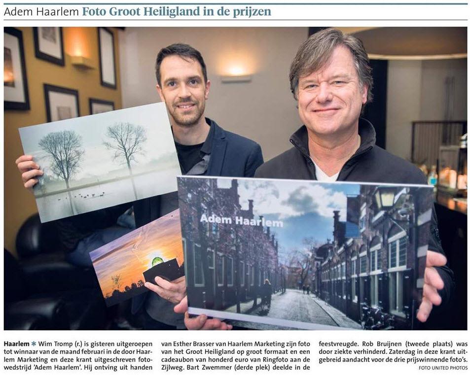 HaarlemsDagblad Wim Tromp foto2