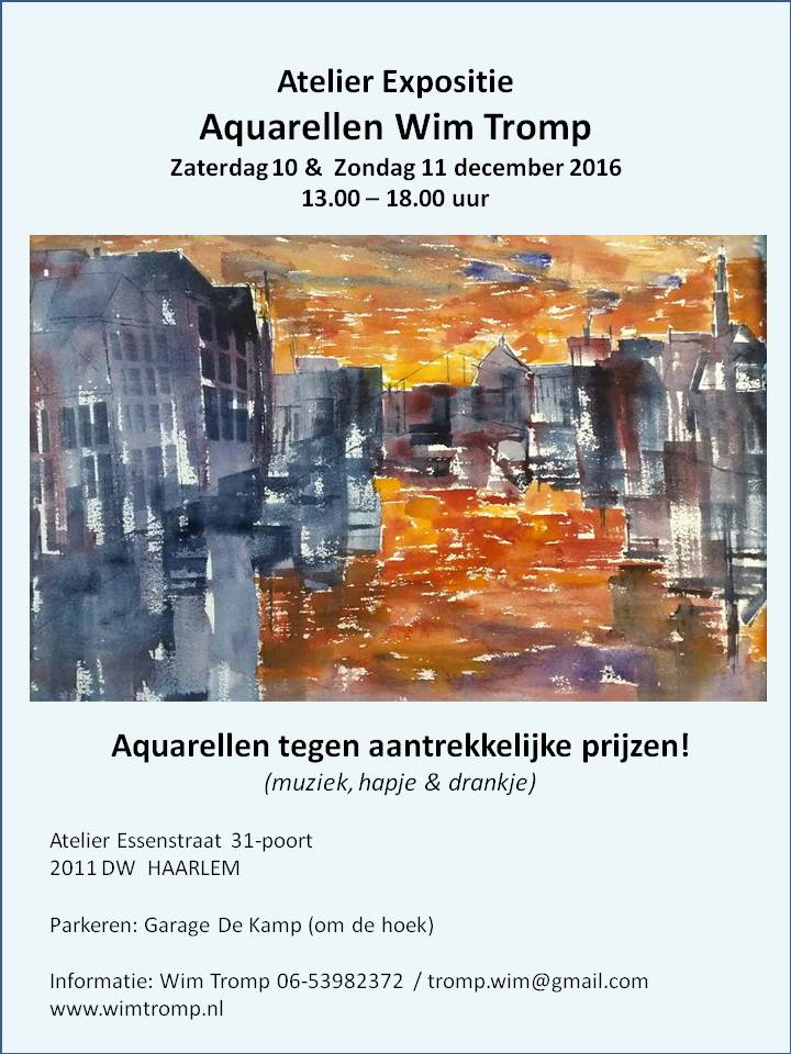 20161202  Uitnodiging Atelier 10 11 december 2016